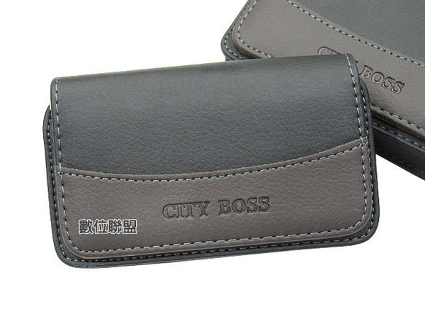 CITY BOSS 腰掛式手機皮套 尺寸130*70*20mm 腰掛皮套 橫式皮套 腰夾 磁扣 保護套 手機套 BWR23