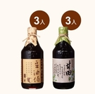 【台灣源味本舖】豆油伯家庭醬油必備6入組