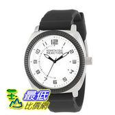 [美國直購] 男士手錶 Kenneth Cole REACTION Unisex RK1273 Street Sport Watch with Black Silicone Band  $2282