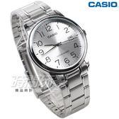 CASIO卡西歐 MTP-V002D-7B 成熟男仕時尚鋼帶腕錶 石英男錶 防水手錶 指針錶 男錶 學生錶 數字錶 銀白