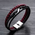 【5折超值價】時尚潮流酸還8字造型男款鈦鋼手環