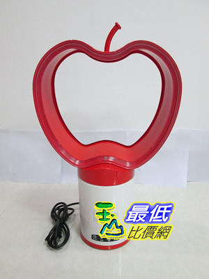 [103 美國直購]  handyman?  冷卻風扇 Apple-Shaped 10 Bladeless Cooling Fan w/Remote. SAFE: no fast-spinning blades. $4995