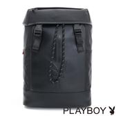 PLAYBOY- 後背包 公路系列-個性黑