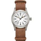 Hamilton漢米爾頓 卡其野戰系列軍事機械腕錶 H69439511