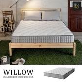 Willow超微細歐盟無毒乳膠蜂巢獨立筒床墊[雙人特大6x7尺]【DD House】