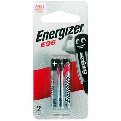 Energizer 勁量鹼性6號AAAA   電池  【2入/片】全新包裝