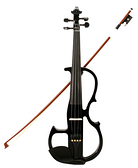 ★集樂城樂器★JYC-V6靜音提琴提琴~黑! 超質感!