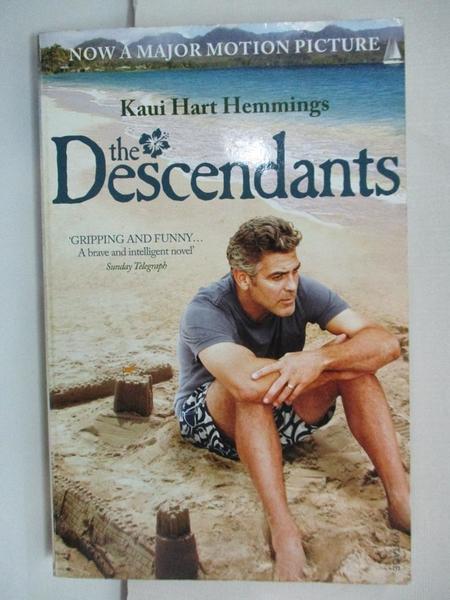 【書寶二手書T1/原文小說_CVG】The Descendants_Kaui Hart Hemmings
