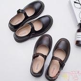 日系娃娃鞋女復古圓頭學院風小皮鞋lolita單鞋【聚可愛】