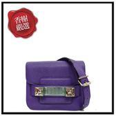 PS1PS11TINY防刮牛皮MINI斜背包-紫色部落客推薦PROENZASCHOULERH00083全新商品