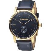 瑞士 WENGER Urban都會系列 俐落美學指針腕錶  01.1741.101