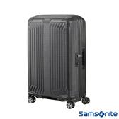 Samsonite新秀麗 28吋Lite-Box耐衝擊Curv垂直線條行李箱(碳灰)