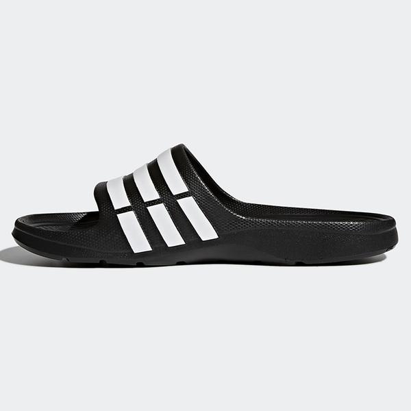 Adidas Duramo Slide 男鞋 女鞋 拖鞋 經典 防水 一體成型 黑 【運動世界】 G15890