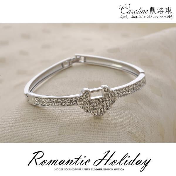 《Caroline》★【柔情】.典雅設計優雅時尚品味流行時尚手環68334