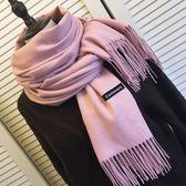 女士圍巾冬季長款韓版仿圍脖