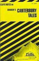 二手書博民逛書店 《Canterbury Tales: Notes》 R2Y ISBN:0822002922│John Wiley & Sons