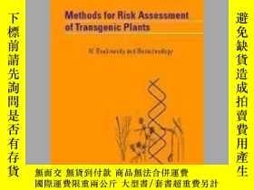 二手書博民逛書店Methods罕見for Risk Assessment of Transgenic PlantsY40570