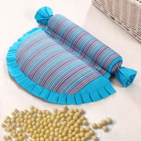 黃豆頸椎枕頸椎專用枕頭蕎麥皮護頸枕成人修復非治療單人黃豆枕芯 沸點奇跡
