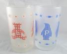 【震撼精品百貨】日本泰迪熊 ~ 玻璃對杯『熊&企鵝』