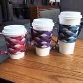 尾牙年貨 飲料提袋 咖啡環保手提便攜杯套小布袋