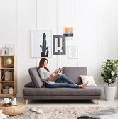 簡約分體沙發床榻榻米兩用小戶型沙發組合家具布藝軟xw