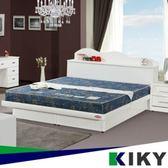 二代日式藍鑽蓆面硬式彈簧單人加大床墊3.5尺