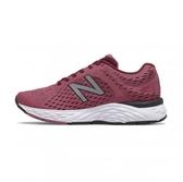 New Balance PERFORMANCE 女款暗紅色運動慢跑鞋-NO.W680CD6