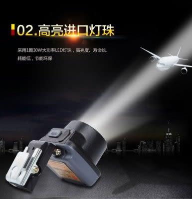 LED锂電強光釣魚燈   頭戴充電式  防水【藍星居家】