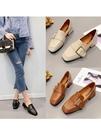 單鞋女仙女的鞋溫柔風低跟奶奶鞋百搭韓版zipper女鞋 安妮塔小铺