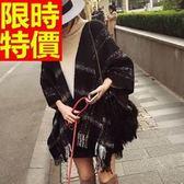 披肩-秋冬加厚保暖雪花流蘇羊毛女圍巾65p10【巴黎精品】