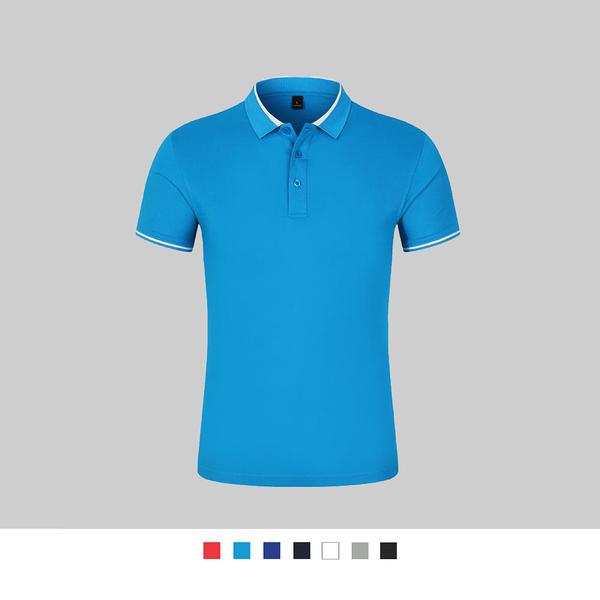 【晶輝團體制服】LS85671*配色素面POLO衫(印刷免費)公司制服,班服