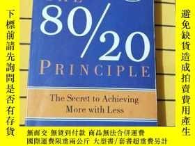 二手書博民逛書店THE罕見80 20 PRINCIPLE(英文原版)Y20985