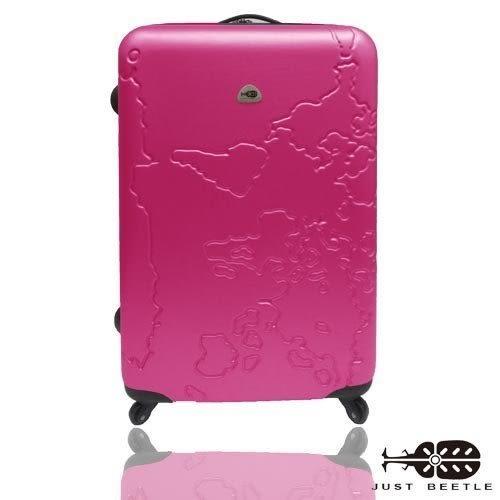 行李箱 旅行箱 JUSTBEETLE地圖系列20吋