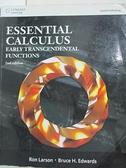 【書寶二手書T2/大學理工醫_I49】Essential Calculus_Larson, Edwards