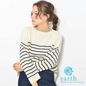❖ Hot item ❖ 素面/橫條紋羅紋針織 - earth music&ecology