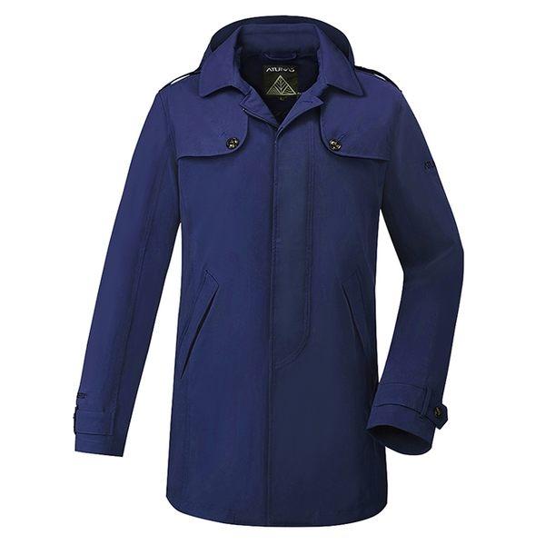《歐都納 ATUNS》男款 都會時尚 Gore-tex®羽絨兩件式外套 防風│防水│兩件式外套 『深藍色』G1719M