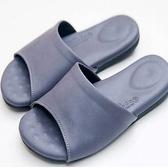 (e鞋院)健康機能乳膠拖鞋-紫紫25.5CM