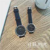 手錶 復古情侶手表一對閨蜜姐妹韓版簡約潮流男女學生bf學院風