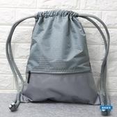 收納袋束口袋抽繩後背包男女通用戶外旅行背包防水輕便折疊運動健身包袋