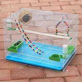 鳥籠金屬鳥籠鴿子相思鳥籠子鸚鵡籠兔子籠通用鳥籠群籠繁殖籠XW(七夕禮物)