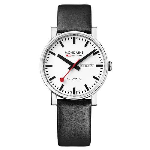 經典機械錶/40mm (132311) Mondaine 瑞士國鐵錶
