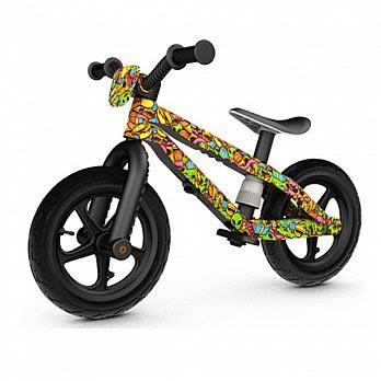 比利時Chillafish BMXIE兒童越野滑步車-塗鴉系列- 太空狂想
