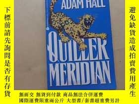 二手書博民逛書店Quiller罕見Meridian 英文原版Y2931 Adam Hall Avon Books New Yo