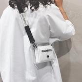 果凍小包 透明果凍小包包女2019新款潮法國洋氣百搭迷你單肩斜背包 3色