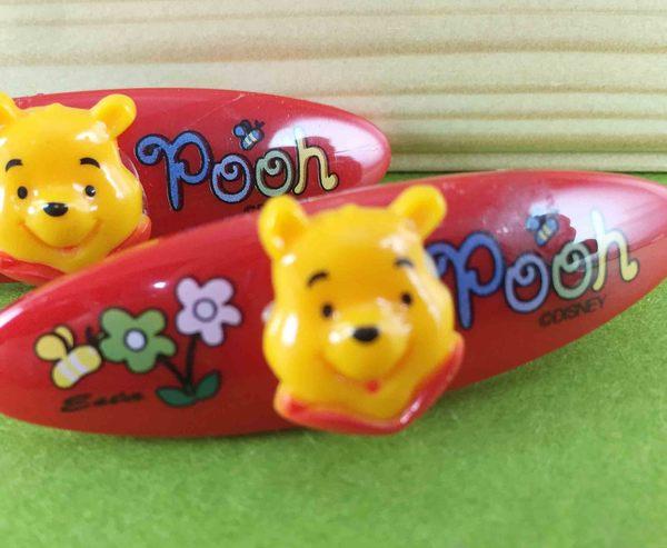 【震撼精品百貨】Winnie the Pooh 小熊維尼~2入髮夾~紅花