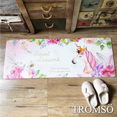 TROMSO廚房防油皮革地墊-K331花境獨角獸