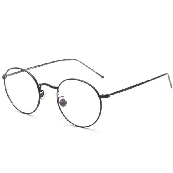 OT SHOP眼鏡框‧現貨中性情侶款平光眼鏡鼻墊 ‧金框黑圈/霧黑/霧銀/金色 ‧N60