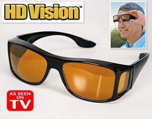 hd vision 太陽眼鏡多功能眼鏡室外鏡單個裝HD眼鏡(金黃色) 69元
