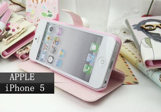 iPhone 5 免運+任二件$900韓國 側翻支架皮套 保護殼 保護套