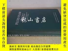 二手書博民逛書店fluid罕見flow:a first course in fl
